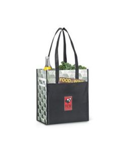 Horizons Laminated Shopper Black 1635