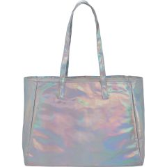 Holographic Shopper Tote