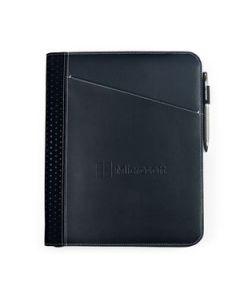 Cedar Leather Padfolio Black