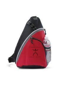 Wave Sling Bag Red