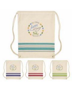 Good Value Springtide Cotton Drawstring Backpack