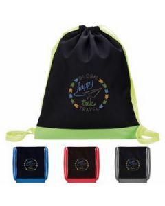 Good Value Color Flip Drawstring Backpack