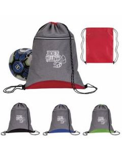 Good Value Two Tone Sport Drawstring Backpack