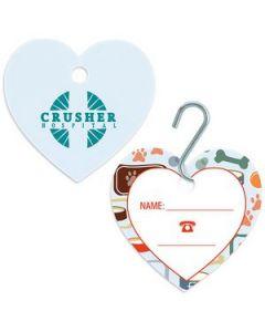 GoodValue® Large Heart Pet ID Tag