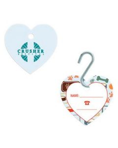 GoodValue® Small Heart Pet ID Tag