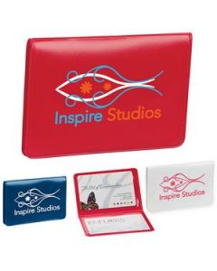 Business Card and License Holder