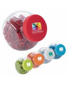Good Value Paper Clip Candy Jar