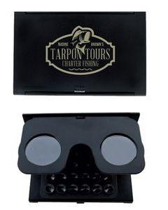 GoodValue Foldable VR Glasses w Suction Phone Holder