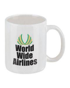 11 Oz Classic White Ironstone Mug