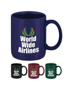 11 Oz Classic Colored Ironstone Mug