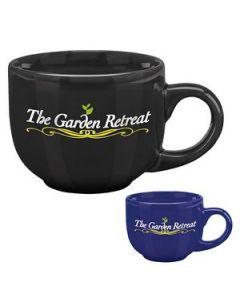 17 Oz Colored Latte Mug