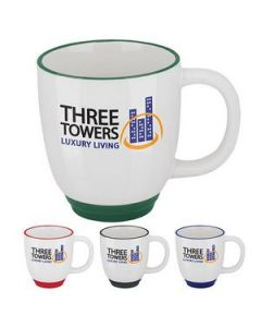14 Oz GoodValue Two Tone Bistro Mug