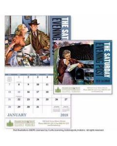 Good Value The Saturday Evening Post Calendar Spiral