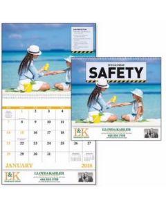 GoodValue Think Safety Calendar Spiral