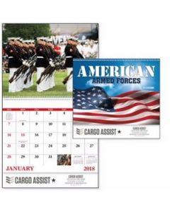 Good Value The Armed Forces Calendar Spiral