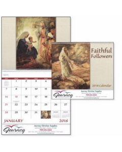 GoodValue Faithful Followers Calendar Spiral