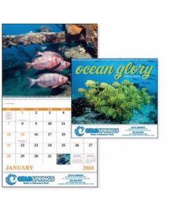 Good Value Ocean Glory Calendar Spiral