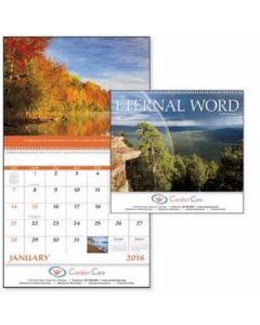 Good Value Eternal Word Calendar wFuneral PrePlanning Form Spiral