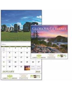 Good Value Glorious Getaways Calendar Spiral
