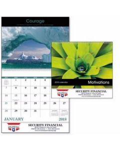 Good Value Motivations Calendar Spiral