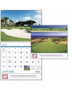 Good Value Fairways  Greens Calendar Spiral
