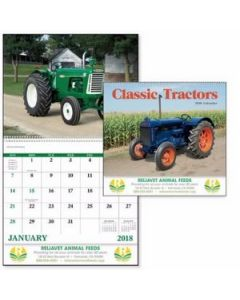 Good Value Classic Tractors Calendar Spiral