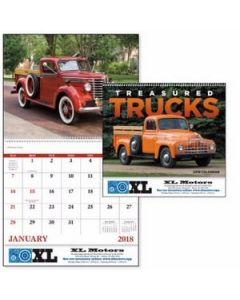 Good Value Treasured Trucks Calendar Spiral