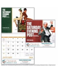 Good Value The Saturday Evening Post by Norman Rockwell Calendar Spiral