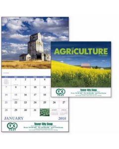 Good Value Agriculture Calendar Stapled