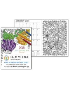 Good Value Adult Coloring Book Planner