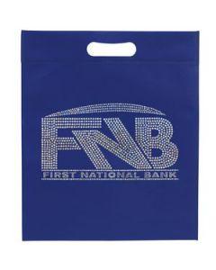 Large NonWoven Die Cut Handle Bag Sparkle
