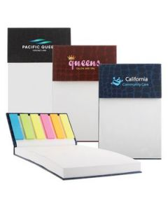 Gator Note Pad w Sticky Notes  ColorJet  Full Color