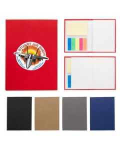 Jotter With Sticky Notes And Flags