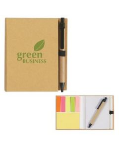 EcoInspired Notebook With Pen