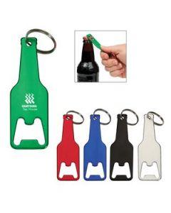 Bottle Shaped Opener Key Tag