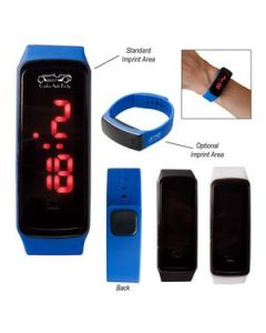 Rectangle Unisex Digital LED Watch