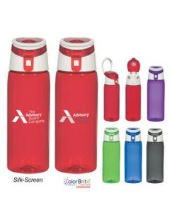 24 Oz Tritan FlipTop Sports Bottle