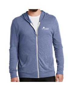 Alternative Mens EcoJersey Zip Hoodie
