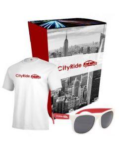 Delta TShirt And Sunglasses Combo Set With Custom Box