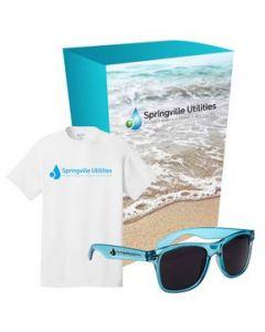 Port  Company TShirt And Sunglasses Combo Set With Custom Box