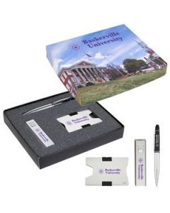 RFID Card Holder Power Bank And Pen Gift Set