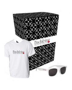 Gildan TShirt And Sunglasses Combo Set With Custom Box