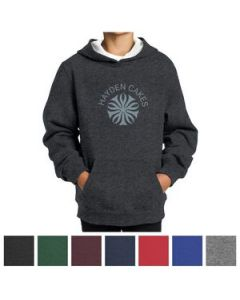 SportTek Youth Pullover Hooded Sweatshirt