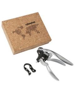 Faux Cork Wine Opener Set