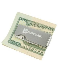 Flat Single Blade Knife Money Clip