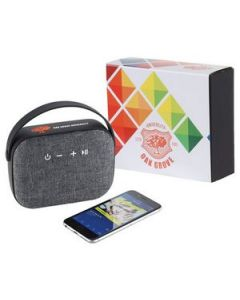 Woven Fabric Bluetooth Speaker wFull Color Wrap