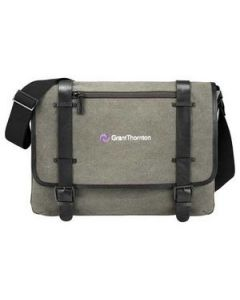 "Kenneth Cole Canvas 17"" Computer Messenger"
