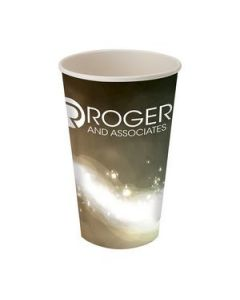 Prka 16oz Single Wall Paper Drinking Cup