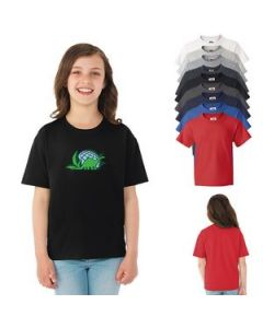 Youth Fruit of the Loom HD Cotton TShirt White