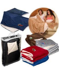 Jumbo MicroMink Sherpa Blanket